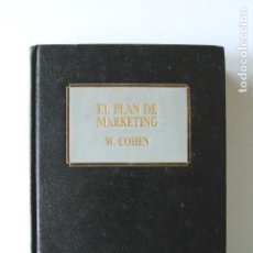 Libros de segunda mano: BIBLIOTECA EMPRESARIAL DEUSTO - EL PLAN DE MARKETING - W. COHEN. Lote 97528551