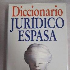 Libros de segunda mano: DICCIONARIO JURIDICO ESPASA. Lote 97737163