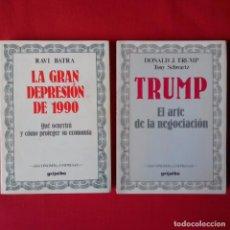 Libros de segunda mano: EL ARTE DE LA NEGOCIACIÓN. DONALD TRUMP. GRIJALBO ECONOMIA Y EMPRESA 1988. 1º EDIC +REGALO. Lote 98010775