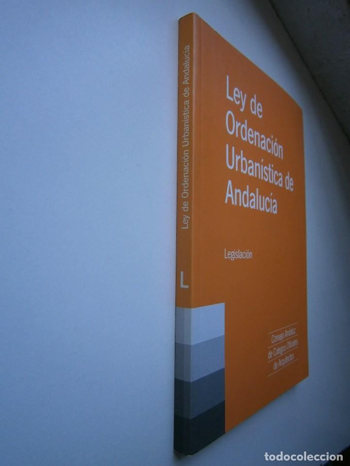 Libros de segunda mano: LEY DE ORDENACION URBANISTICA DE ANDALUCIA LEGISLACION 1 EDICION 2003 - Foto 2 - 98893719