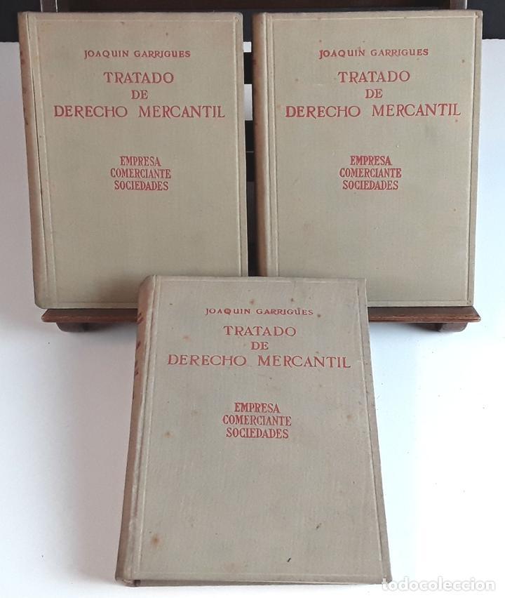 TRATADO DE DERECHO MERCANTIL. 3 VOLÚMENES. REVISTA DE DERECHO MERCANTIL. 1947 /1949. (Libros de Segunda Mano - Ciencias, Manuales y Oficios - Derecho, Economía y Comercio)