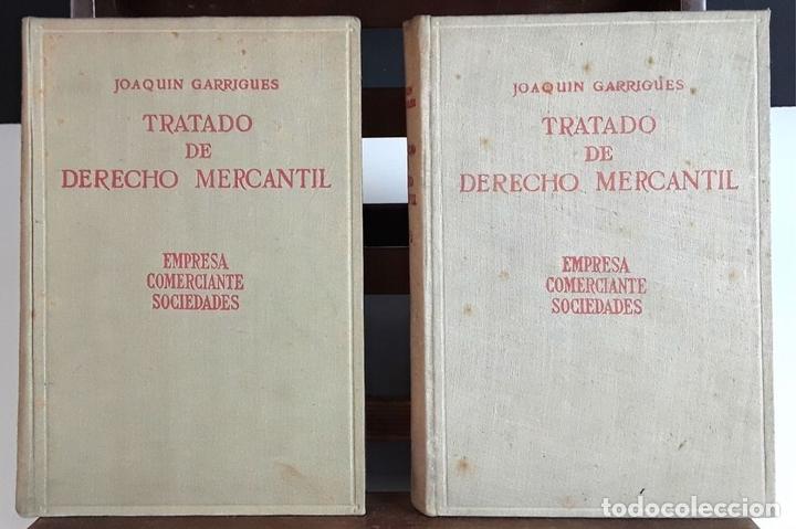 Libros de segunda mano: TRATADO DE DERECHO MERCANTIL. 3 VOLÚMENES. REVISTA DE DERECHO MERCANTIL. 1947 /1949. - Foto 2 - 99418515