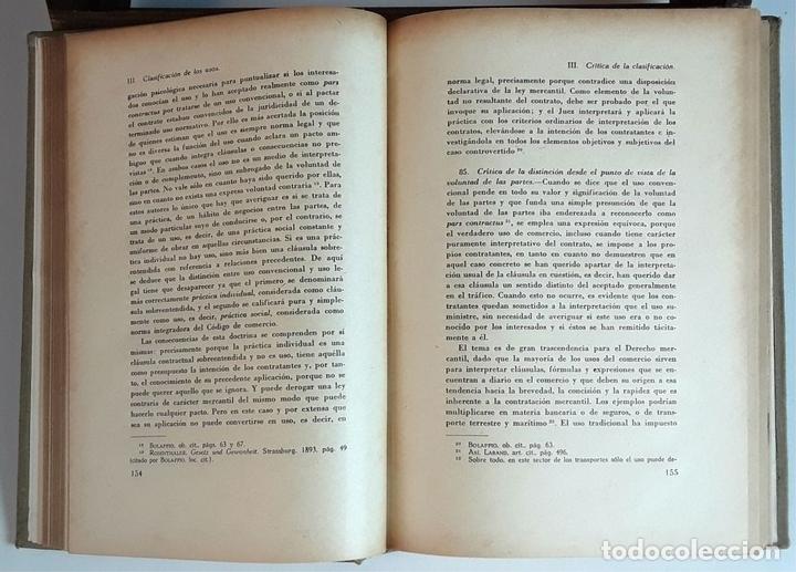Libros de segunda mano: TRATADO DE DERECHO MERCANTIL. 3 VOLÚMENES. REVISTA DE DERECHO MERCANTIL. 1947 /1949. - Foto 5 - 99418515