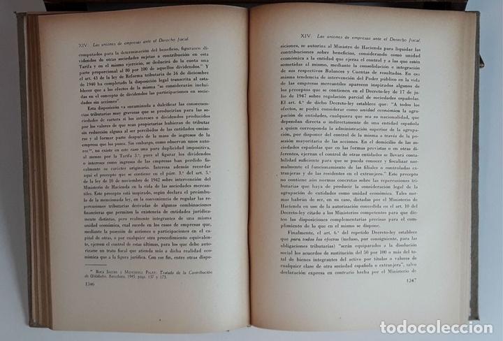 Libros de segunda mano: TRATADO DE DERECHO MERCANTIL. 3 VOLÚMENES. REVISTA DE DERECHO MERCANTIL. 1947 /1949. - Foto 8 - 99418515