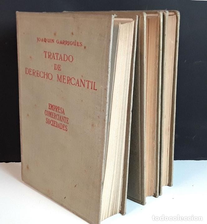 Libros de segunda mano: TRATADO DE DERECHO MERCANTIL. 3 VOLÚMENES. REVISTA DE DERECHO MERCANTIL. 1947 /1949. - Foto 9 - 99418515