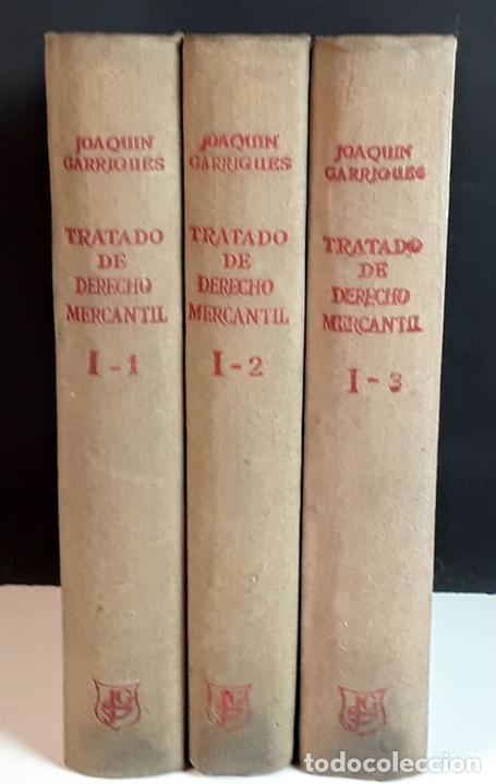 Libros de segunda mano: TRATADO DE DERECHO MERCANTIL. 3 VOLÚMENES. REVISTA DE DERECHO MERCANTIL. 1947 /1949. - Foto 10 - 99418515