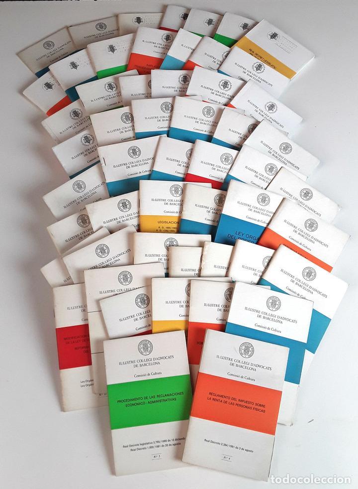 IL-LUSTRE COL-LEGI D'ADVOCATS DE BARCELONA. 52 EJEMPLARES. EDIT. IL-LCOL-LEGI. 1981/1996. (Libros de Segunda Mano - Ciencias, Manuales y Oficios - Derecho, Economía y Comercio)