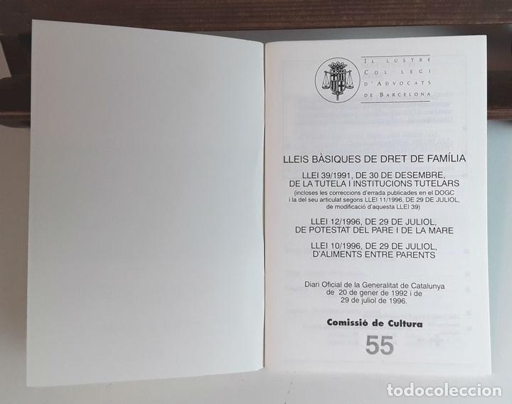 Libros de segunda mano: IL-LUSTRE COL-LEGI D'ADVOCATS DE BARCELONA. 52 EJEMPLARES. EDIT. IL-LCOL-LEGI. 1981/1996. - Foto 6 - 99443291