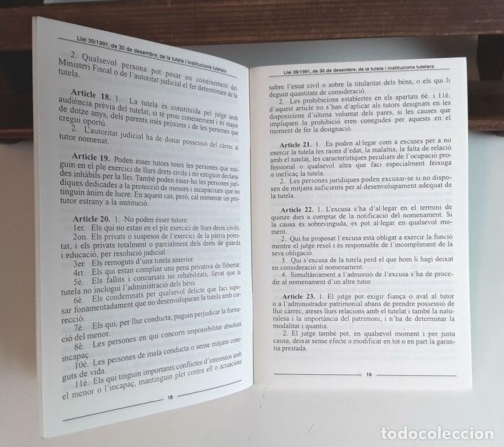 Libros de segunda mano: IL-LUSTRE COL-LEGI D'ADVOCATS DE BARCELONA. 52 EJEMPLARES. EDIT. IL-LCOL-LEGI. 1981/1996. - Foto 7 - 99443291