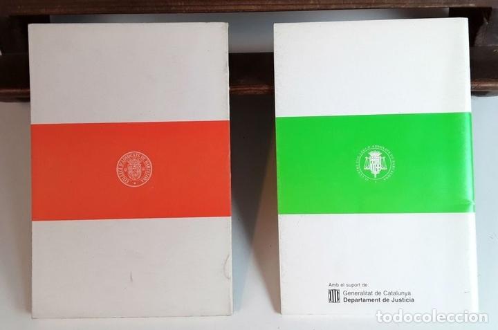 Libros de segunda mano: IL-LUSTRE COL-LEGI D'ADVOCATS DE BARCELONA. 52 EJEMPLARES. EDIT. IL-LCOL-LEGI. 1981/1996. - Foto 10 - 99443291