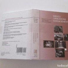 Libros de segunda mano: ROBERT G. MURDICK, BARRY RENDER, ROBERTA S. RUSELL. SERVICE OPERATIONS MANAGEMENT. RMT83800. . Lote 101057707