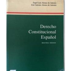 Libros de segunda mano: DERECHO CONSTITUCIONAL ESPAÑOL. Lote 101612364