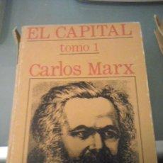 Livres d'occasion: EL CAPITAL, CARLOS MARX TOMO I, II Y III. Lote 94877483