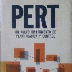 Libros de segunda mano: PERT UN NUEVO INSTRUMENTO DE PLANIFICACIÓN Y CONTROL. GABRIEL N.STILIAN.. Lote 102568479