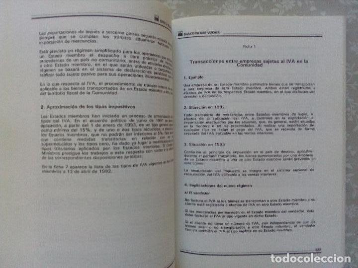 Libros de segunda mano: LIBRO REGALO ACCIONISTAS BBVA - MERCADO UNICO Y COMPETITIVIDAD - Foto 2 - 102931883