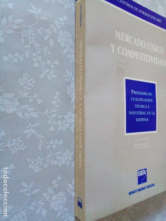 Libros de segunda mano: LIBRO REGALO ACCIONISTAS BBVA - MERCADO UNICO Y COMPETITIVIDAD - Foto 4 - 102931883