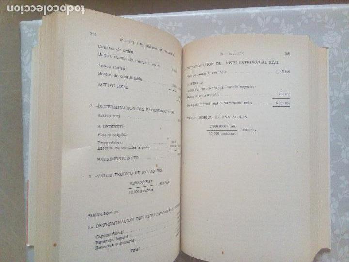 Libros de segunda mano: CONJUNTO DE DOS LIBROS - SUPUESTOS DE CONTABILIDAD FINANCIERA Y ECONOMIA DE LA EMPRESA - Foto 5 - 102934139