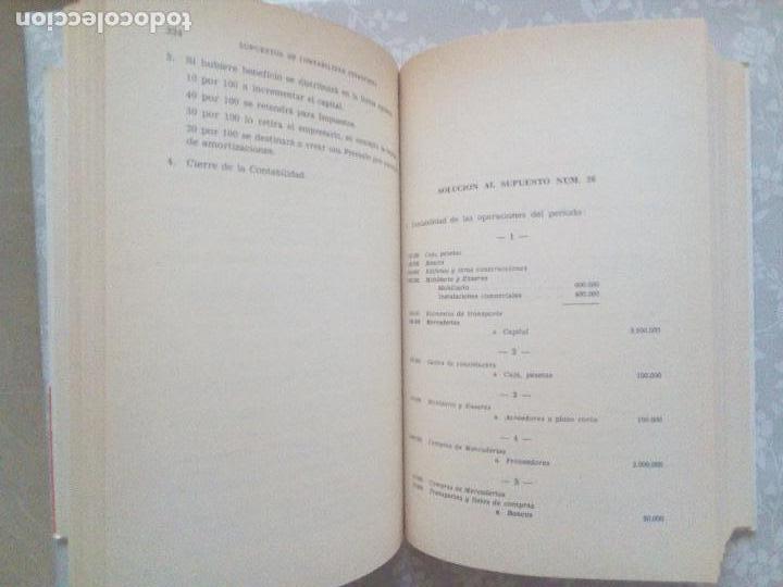 Libros de segunda mano: CONJUNTO DE DOS LIBROS - SUPUESTOS DE CONTABILIDAD FINANCIERA Y ECONOMIA DE LA EMPRESA - Foto 6 - 102934139