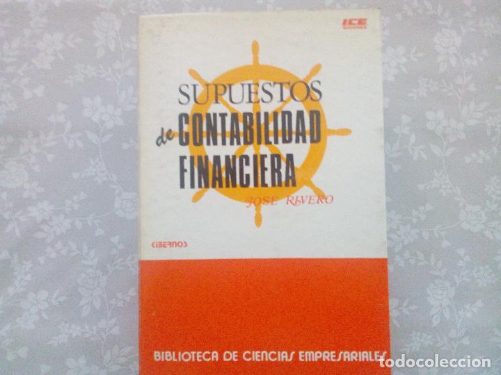 Libros de segunda mano: CONJUNTO DE DOS LIBROS - SUPUESTOS DE CONTABILIDAD FINANCIERA Y ECONOMIA DE LA EMPRESA - Foto 7 - 102934139