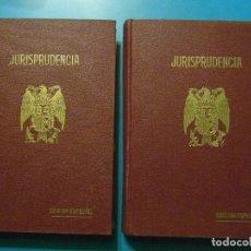 Libros de segunda mano: REPERTORIO DE JURISPRUDENCIA. ARANZADI. AÑO 1942. TOMO IX. 2 VOL. 1ª EDICION. PAMPLONA. Lote 102954767