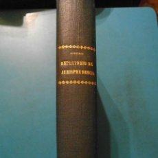 Libros de segunda mano: REPERTORIO DE JURISPRUDENCIA. ARANZADI. AÑO 1940. TOMO VII. 1ª EDICION. PAMPLONA. Lote 102955703
