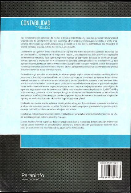 Libros de segunda mano: CONTABILIDAD Y FISCALIDAD. 2013 - Foto 2 - 102652007