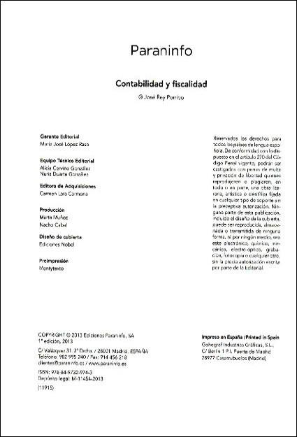 Libros de segunda mano: CONTABILIDAD Y FISCALIDAD. 2013 - Foto 3 - 102652007