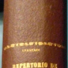 Libros de segunda mano: REPERTORIO CRONOLOGICO DE LEGISLACION. AÑO 1938. ARANZADI. 1ª EDICION. PAMPLONA. Lote 103117239