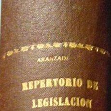 Libros de segunda mano: REPERTORIO CRONOLOGICO DE LEGISLACION. AÑO 1939. ARANZADI. 1ª EDICION. PAMPLONA. Lote 103117487