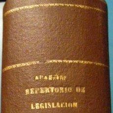 Libros de segunda mano: REPERTORIO CRONOLOGICO DE LEGISLACION. AÑO 1940. ARANZADI. 1ª EDICION. PAMPLONA. Lote 103117715