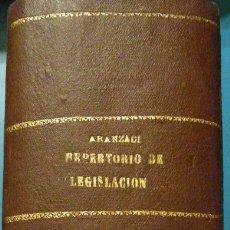 Libros de segunda mano: REPERTORIO CRONOLOGICO DE LEGISLACION. AÑO 1941. ARANZADI. 1ª EDICION. PAMPLONA. Lote 103118051