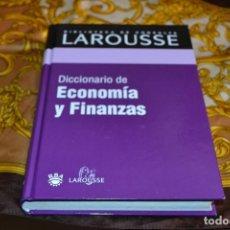 Libros de segunda mano: BIBLIOTECA LAROUSSE DICCIONARIO DE ECONOMÍA Y FINANZAS. Lote 103220603