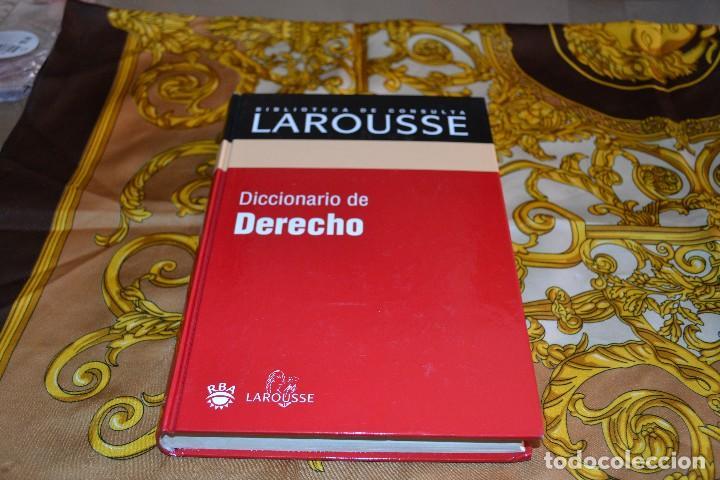 BIBLIOTECA LAROUSSE DICCIONARIO DE DERECHO (Libros de Segunda Mano - Ciencias, Manuales y Oficios - Derecho, Economía y Comercio)