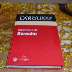 Libros de segunda mano: BIBLIOTECA LAROUSSE DICCIONARIO DE DERECHO. Lote 103221479