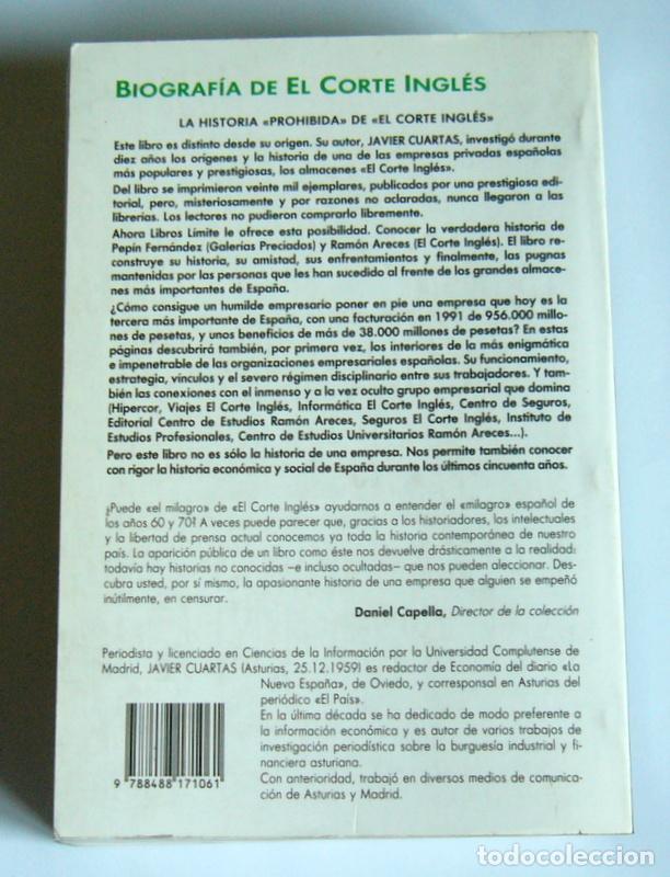 biografia de el corte ingles - historia de un g - Comprar Libros de ...