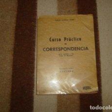 Libros de segunda mano - CURSO PRACTICO DE CORRESPONDENCIA GENERAL . ALBINO CAÑADA GINER - 105337819