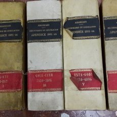 Libros de segunda mano: DICCIONARIO LEGISLACIÓN APÉNDICE 1951 1966 ARANZADI. Lote 105623022