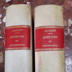 Libros de segunda mano: REPERTORIO DE JURISPRUDENCIA 1961 COMPLETO ARANZADI. Lote 105624624
