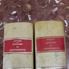 Libros de segunda mano: REPERTORIO CRONOLÓGICO DE LEGISLACIÓN ARANZADI COMPLETO 1972. Lote 105634740