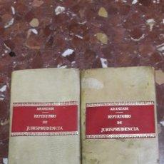Libros de segunda mano: REPERTORIO CRONOLÓGICO DE LEGISLACIÓN ARANZADI CÓMO 1973. Lote 105634926