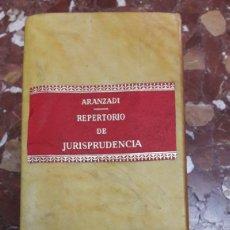 Libros de segunda mano: REPERTORIO CRONOLÓGICO DE JURISPRUDENCIA 1976 ARANZADI. Lote 105635940