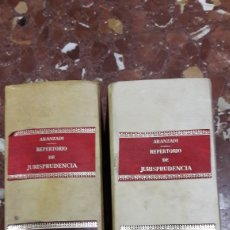 Libros de segunda mano: REPERTORIO CRONOLÓGICO DE JURISPRUDENCIA 1977 COMPLETO ARANZADI. Lote 105636074
