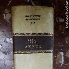 Libros de segunda mano: REPERTORIO DE JURISPRUDENCIA 1968 ARANZADI. Lote 105634110