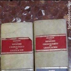 Libros de segunda mano: REPERTORIO CRONOLÓGICO DE LEGISLACIÓN ARANZADI 1975. Lote 105635774