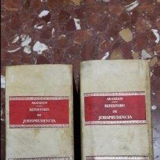 Libros de segunda mano: REPERTORIO CRONOLÓGICO DE JURISPRUDENCIA 1978 COMPLETO ARANZADI. Lote 105636143