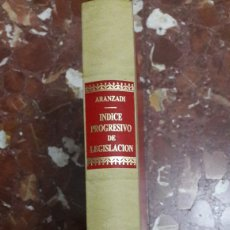 Libros de segunda mano: APÉNDICE AL ÍNDICE PROGRESIVO DE LEGISLACIÓN ARANZADI 1996. Lote 105701496