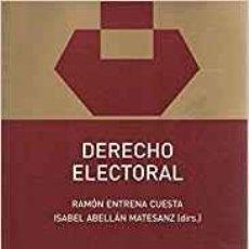 Libros de segunda mano: DERECHO ELECTORAL. RAMÓN ENTRENA. Lote 105886711