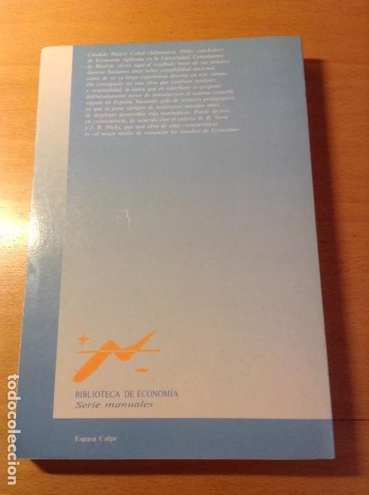 Libros de segunda mano: INTRODUCCION A LA ECONOMIA APLICADA (CANDIDO MUÑOZ CIDAD) ESPASA CALPE - Foto 2 - 106021723