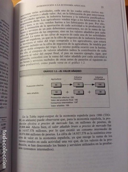 Libros de segunda mano: INTRODUCCION A LA ECONOMIA APLICADA (CANDIDO MUÑOZ CIDAD) ESPASA CALPE - Foto 9 - 106021723