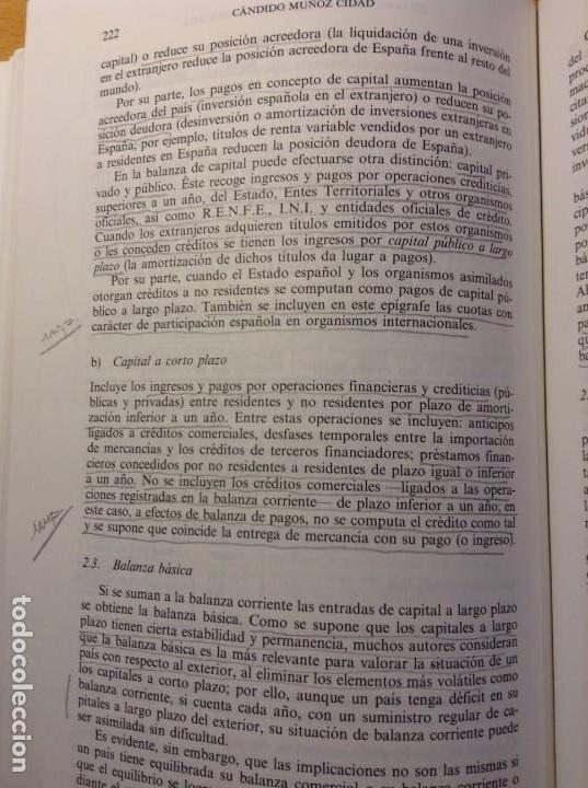 Libros de segunda mano: INTRODUCCION A LA ECONOMIA APLICADA (CANDIDO MUÑOZ CIDAD) ESPASA CALPE - Foto 10 - 106021723